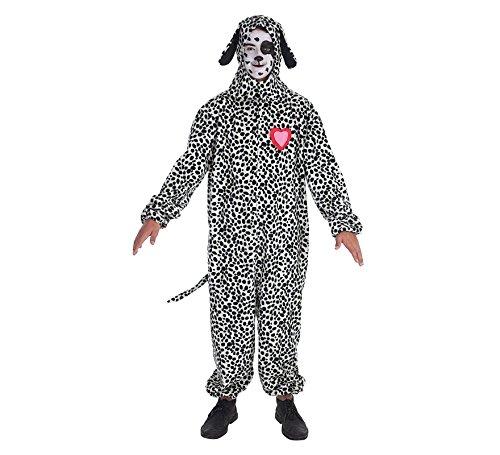 LLOPIS Dalmatiner Herz Erwachsenen Kostüm