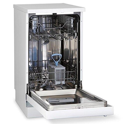51mmuF51RgL. SS500  - Montpellier DW1064P-2 10 Place Slimline Freestanding Dishwasher - White