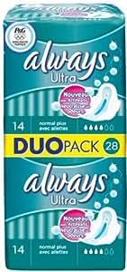 Always - Serviettes Ultra Duopack Normal Plus x28