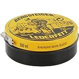 Bergsteiger Lederfett schwarz Lederpflege pflegt Leder dauerhaft wasserabweisend und geschmeidig weich., 200 ml