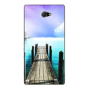 Jugaaduu Pathway to Heaven Back Cover Case For Sony Xperia M2 Dual