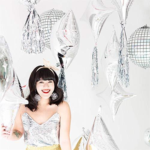 Wonderfulde Disco-Folien-Retro- Steigung der Ballon-4D des Regenbogen-für Hochzeits-Thema-Partei-Feier-Dekorationen
