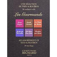 Comptoirs Richard 36 Sachets Thés Les Gourmands 72 g