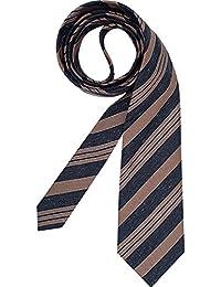 RENÉ LEZARD Herren Krawatte Accessoire Gestreift, Größe: Onesize, Farbe: Blau