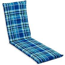 beo B120 Barcelona RE - Cojín para sillas de exterior, color azul