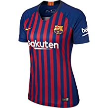 Nike FCB W NK BRT STAD JSY SS HM T-Shirt, Mujer, Deep