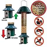 Eichhörnchensichere Vogelfutterstation Roamwild Pest-Off-Futterstation für Erdnüsse