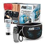 Ab Flex geavanceerde, elektrische buikspiertrainer, voor een getrainde buik, 99 intensiteitsniveaus en 10 programma's voor snelle resultaten, batterijen inbegrepen.