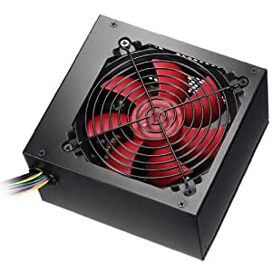 Alpine 700W Black PC Power Supply With Red 120mm Fan