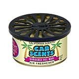 California Car Scents Duftdose für das Auto. Duftrichtung: Gardenia Del Mar (Gardenien)