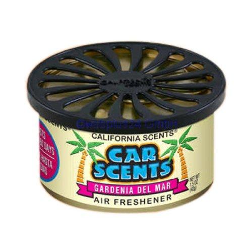 Preisvergleich Produktbild California Car Scents Duftdose für das Auto. Duftrichtung: Gardenia Del Mar (Gardenien)