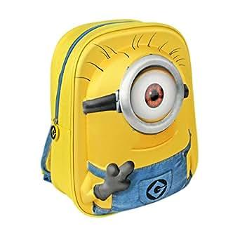 Kids Despicable Me 3 Minions 3D Backpack Rucksack School Bag