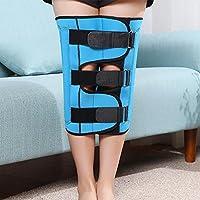 Azul Adulto Niño Corrección de pierna ajustable con patas en forma de X Piernas de pierna O Pierna de tipo pierna enderezar banda fija , l