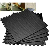 4/8/12/16/20/24 Interlocking Eva Foam Mats Tiles Gym Play Garage Workshop Floor