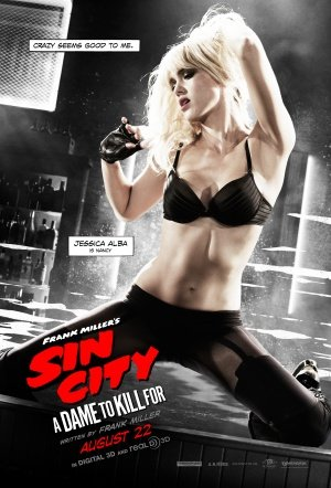 SIN CITY : DAME TO KILL FOR – Jessica Alba – US Imported Movie Wall Poster Print – 30CM X 43CM Brand New (To Dame Für City Sin Kill Dvd)