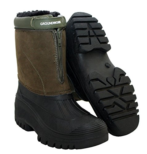 Groundwork - Stivali da ragazza' donna Khaki