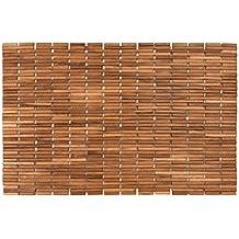 Tappeti di legno for Amazon tappeti bagno