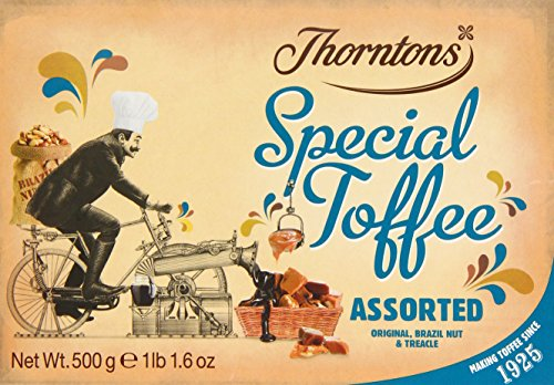 Thorntons Assorted Toffee Box 500 g (Pack of 2)