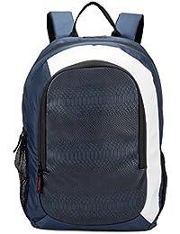 Chris & Kate 25L Blue Premium Laptop Bag | Comfortable Backpack With Unique Python Print|Premium Range Of Backpacks...