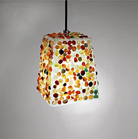 Xh&Yh Creative Personality Fashion Simple Pomegranate Stone Chandelier Restaurant Bedroom