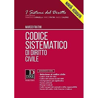 Codice Sistematico Di Diritto Civile