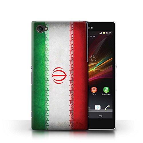 Kobalt® Imprimé Etui / Coque pour Sony Xperia Z1 Compact / Suède/suèdois conception / Série Drapeau Iran