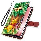 Disney Collection Étui Portefeuille en Cuir PU avec béquille pour Samsung Galaxy S8...