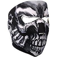 Eizur Crâne Masque Visage Cagoule Neoprene Réglable Cagoule Tête pour Cou  Nez Oreille Bouche Anti Poussière 267ac2c2264