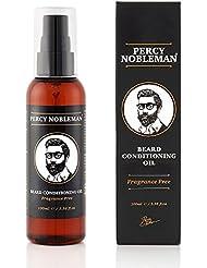 Huile pour barbes - Huile de conditionnement pour barbes de Percy Nobleman - Adoucisseur pour barbes et produits...