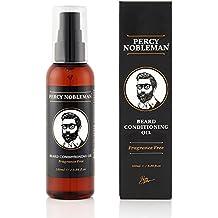 Aceite para barba – Aceite acondicionador de Percy Nobleman especial para barbas – Un suavizante y acondicionador profundo para barbas de hombres (100 ml)