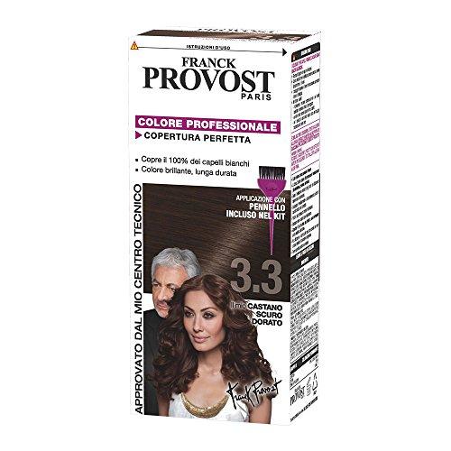 Franck Provost Colore Professionale Copertura Perfetta, 3.3 Castano Scuro Dorato