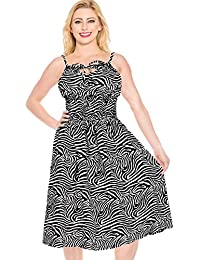 5706e3eb1 LA LEELA Vestido de Tubo Corto Mujer Piscina Impresa Desgaste del Partido  1571
