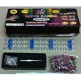 Loom Bracelet Making Kit Includes 600 Rubber Bands, S-clips, Loom by DIY