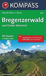 Bregenzerwald und Großes Walsertal: Wanderführer mit Extra Tourenkarte zum Mitnehmen. (KOMPASS-Wanderführer)