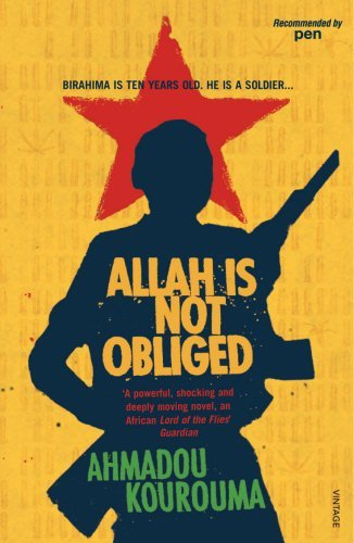 Allah Is Not Obliged by Ahmadou Kourouma (2-Aug-2007) Paperback