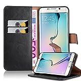 Cadorabo Coque pour Samsung Galaxy S6 EDGE PLUS , NOIR DE JAIS Design...