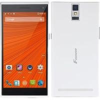 2015 NEW Foxnovo F9900 Android 4.4 MTK6582 Quad-core 1GB/8GB 5.5-inch QHD Screen Gesture Sensing GPS OTG 3G Smartphone (White)