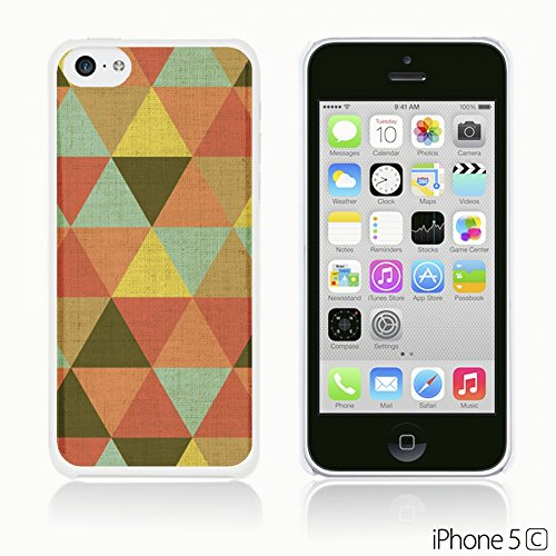 OBiDi - Geometrical Pattern Hardback Case / Housse pour Apple iPhone 5C - Funny Tribal Print Regular Triangle