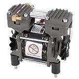 Pompa per vuoto senza olio, 220V 85W Pompa per vuoto senza olio 620 mmHg / -82 kpa 20L / min Pompa per vuoto per strumento da laboratorio,Macchina automatica