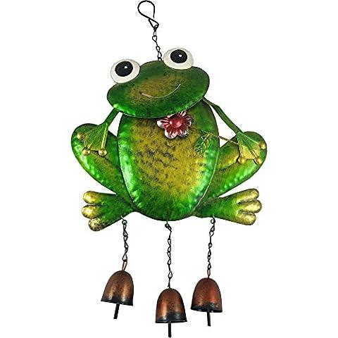 Metal Frog Windchime