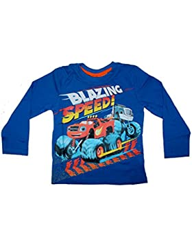 Nickelodeon Blaze and the Monster Machines Jungen Langarmshirt