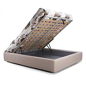 Goldflex letto sommier gold con box contenitore - Letto contenitore senza testiera ...