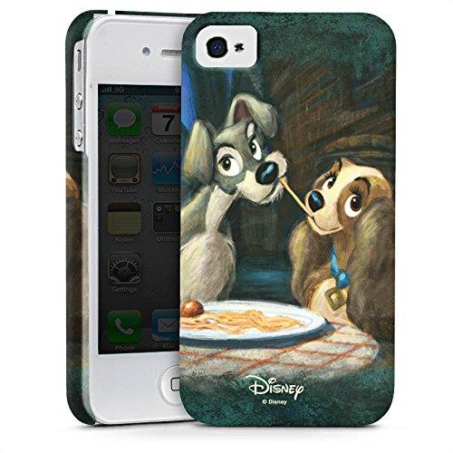 Apple iPhone 6 Silikon Hülle Case Schutzhülle Disney Susi & Strolch Fanartikel Merchandise Premium Case glänzend