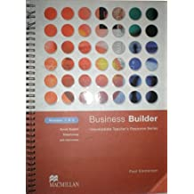 Business Builder: Business Builder Tea Res Mod 1-3 Module 1-3