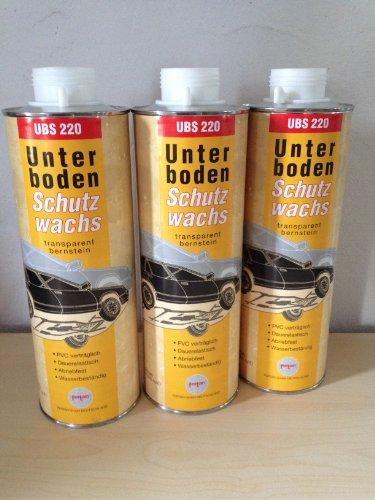 Preisvergleich Produktbild 3 X (3X1Liter)Fertan UBS Wachs-Unterbodenschutz 1 Liter Kartusche