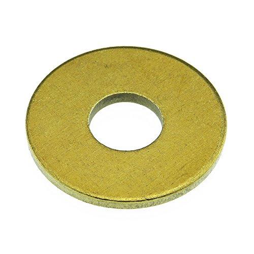 Unterlegscheibe DIN 9021 Messing blank 4,3 - 100 Stück