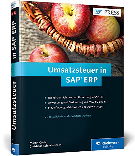 Umsatzsteuer in SAP ERP: Geschäftsprozesse in SAP MM, SAP FI und SAP SD (SAP PRESS)