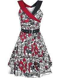 HaHa Harley Quinn Batman Neckholder Kleid