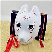 FYPmj Máscara Máscaras Variedad de máscaras de Zorro Opcionales Cara de Gato Estilo japonés máscara de