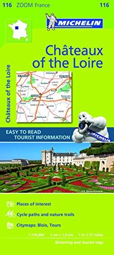 Mapa Zoom Chateaux of the Loire (Mapas Zoom Michelin)